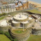 Deal Castle, aerial view