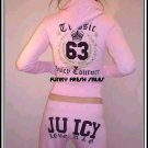 NWT Pink Authentic Juicy Couture Classic 63 Set Size Large