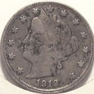 "1912 Liberty ""V"" Nickel F12 #111"