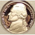 1982-S Proof DCam Jefferson Nickel PF65 #207