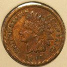 1907 Indian Head Penny FULL LIBERTY VF #255