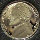 1996-S DCAM PROOF Jefferson Nickel PF65 #268