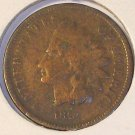 1873 Indian Head Open 3 G4 FREE S&H #309