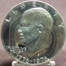 1976-S Proof Eisenhower Dollar PF65 Variety 1 FREE SHIPPING #318