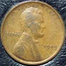 1909 Lincoln Wheat Penny F12 #311