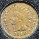 1900 Indian Head Penny Full Liberty F #619