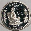 2003-S Clad DCAM Proof Alabama State Quarter PF65 #424