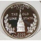 2000-S Clad Proof Maryland State Quarter PF65DC #431