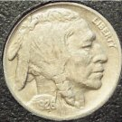 1926 Buffalo Nickel VF20 3/4 Horn #446