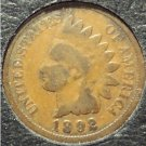 1892 Indian Head Penny G4 #498