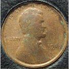1909 VDB Lincoln Wheat Penny G/VG Free S&H #528