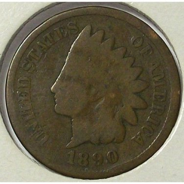 1890 Indian Head Cent AG #544