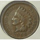 1905 Indian Head Cent VG Partial Liberty #549