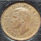 1947 Canadian George VI Cent AU #596