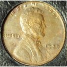1939 Lincoln Wheat Cent EF #724