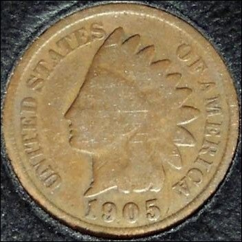 1905 Indian Head Cent G #730