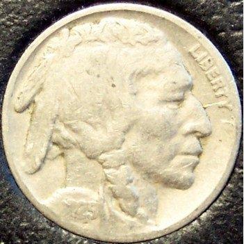 1925 Buffalo Nickel VG #738