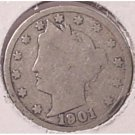 1901 Liberty Head Nickel G4 #778