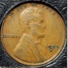 1929-S Lincoln Wheat Back Penny VF #814