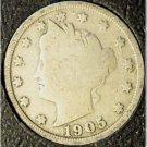 "1905 Liberty ""V"" Nickel G4 #820"