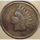 1904 Indian Head Penny VG8 Partial Liberty #830