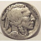 1934 Buffalo Nickel G4 FULL DATE 1/3 HORN #853