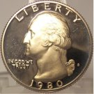 1980-S DCAM Clad Proof Washington Quarter PF65DC #863