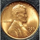 1956-D Lincoln Wheat Back Penny MS65R #908
