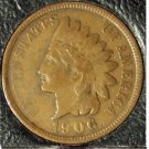 1906 Indian Head Penny FULL Liberty F12 #937