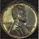 1943 Lincoln Wheat Back Steel Penny MS65 #979