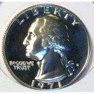 1971-S Proof CAM Washington Quarter PF65 #509