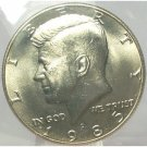 1985-D Kennedy Half Dollar MS65 in the Cello #614