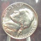 1989-D Jefferson Nickel MS65 Full Steps In the Cello #789