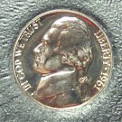 1961 Proof Jefferson Nickel PF65 #800