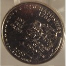 2000-D New Hampshire State Quarter MS65 in the cello #817