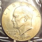 1976-P Var 2 BU Eisenhower Dollar MS64 In the Cello FREE SHIPPING #381