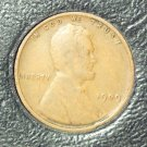 1909 VDB Lincoln Wheat Penny VG Free Shipping #962