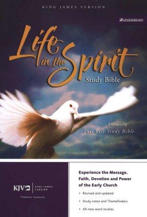 KJV Life in the Spirit Study Bible, Bonded Leather, Black