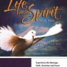 KJV Life in the Spirit Study Bible, Bonded Leather, Burgundy