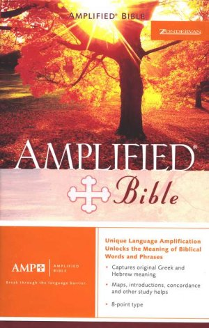 The Amplified Bible, Hardcover, Thumb Indexed