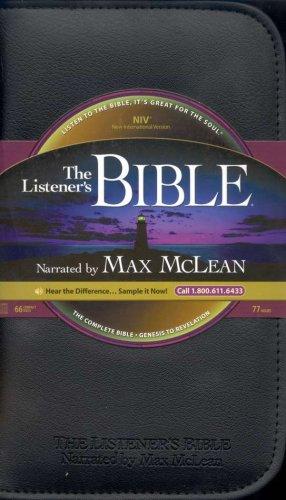 NIV Complete Listener's Bible - Audio Bible on CD Max McLean