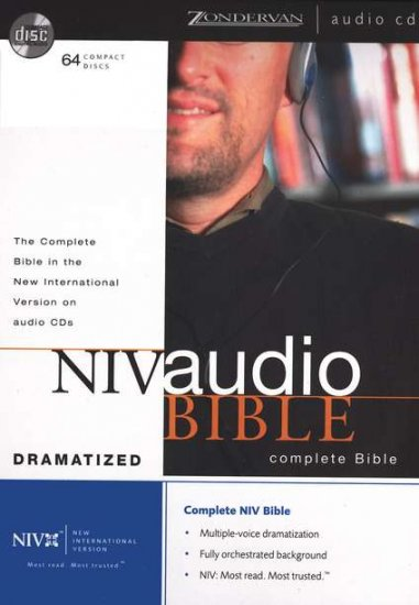 The NIV Complete Audio Bible on CD Dramatized Version