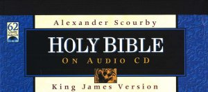 KJV Bible - Audio Bible on CD Alexander Scourby