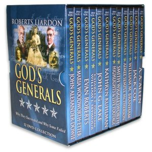 GOD'S GENERALS 12 DVD SET- JOHN G LAKE
