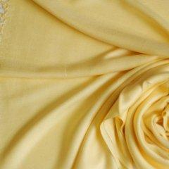 Pashmina Style Shawl (Pastel Yellow) - 100% Viscose