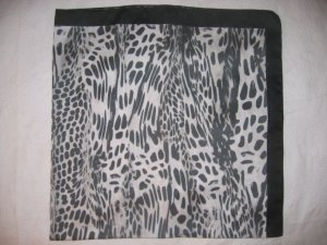 Large Italian Square Scarf - Abstract Prints