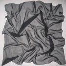 Chiffon Scarf - Solid Black