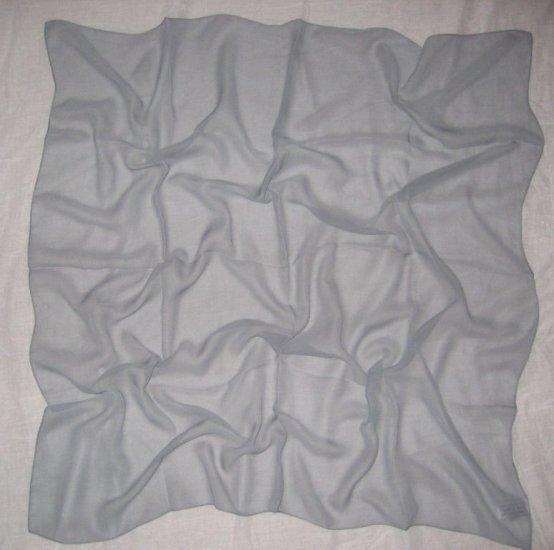 Chiffon Scarf - Solid Gray
