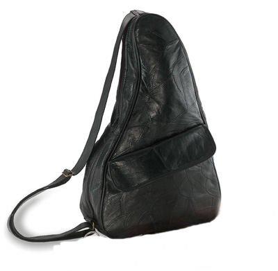 Genuine Leather Shoulder Backpack