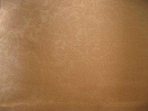 Pashmina Style Jacquard Paisley Shawl - Golden Brown